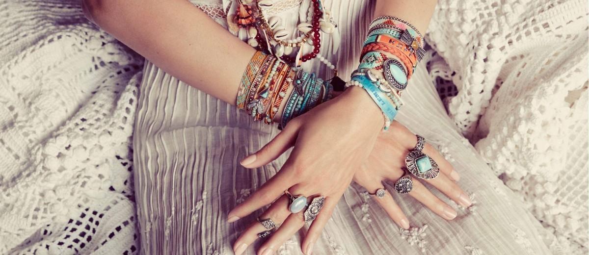 Dámske náramky na ruku